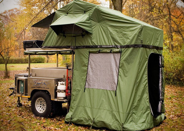 All Terrain Camping Trailer by Campa USA 2
