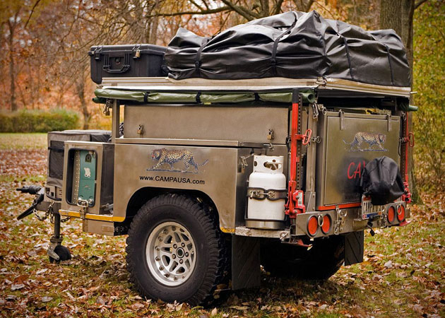 All Terrain Camping Trailer By Campa Usa Hiconsumption