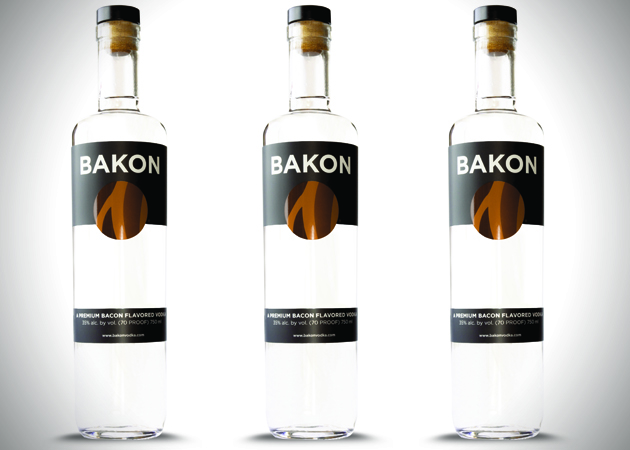 Bacon Flavored Bakon Vodka