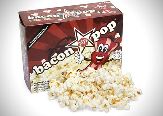 Bacon Pop Microwave Popcorn
