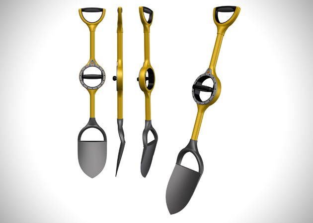 Ergonomic Shovel by Bosse Tools 2