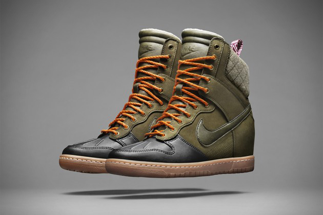 Nike SneakerBoot Fall Winter 2013 Collection 2