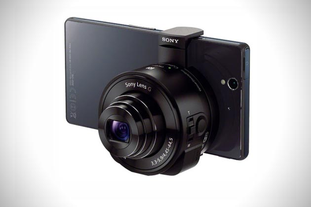 Sony Smart Shot Camera Clip-Ons for iPhone Android Smartphones 6