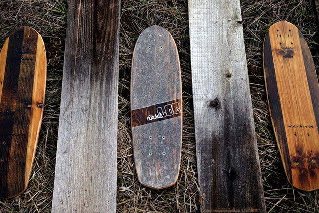 Sustainable Wood Skateboards by Natural Log Skateboards 2
