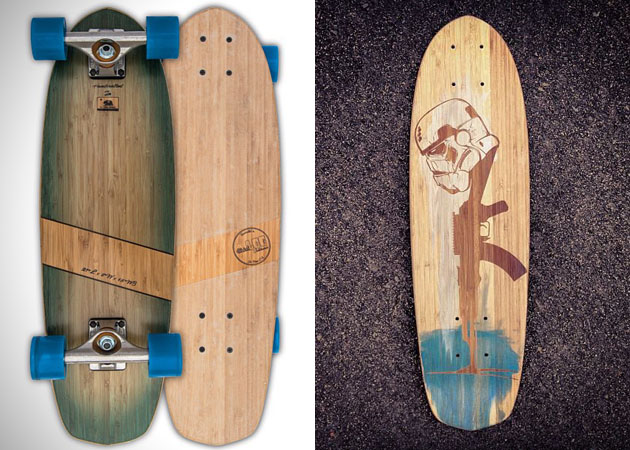 Sustainable Wood Skateboards by Natural Log Skateboards 3