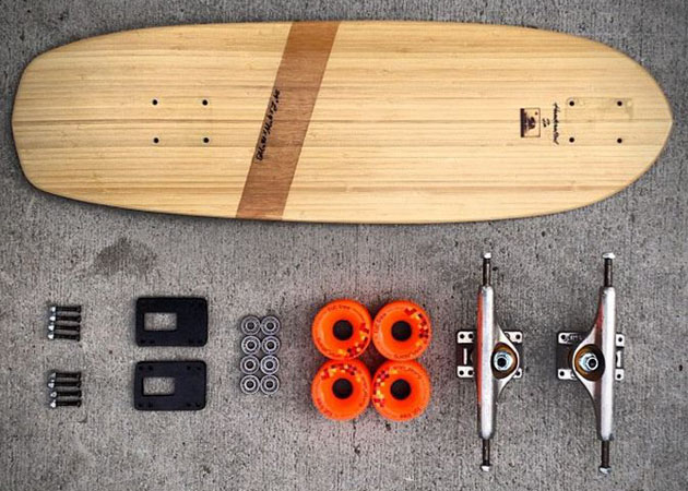 Sustainable Wood Skateboards by Natural Log Skateboards 4