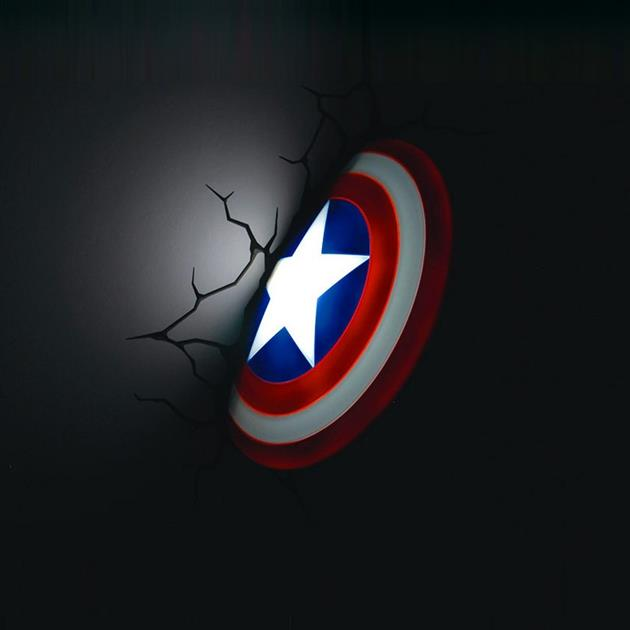 The Avengers 3D Wall Art Night Lights