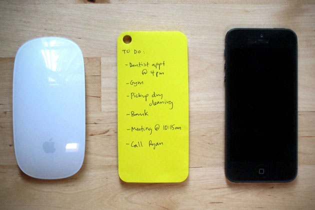 iPhone Paperback Sticky Notes 3
