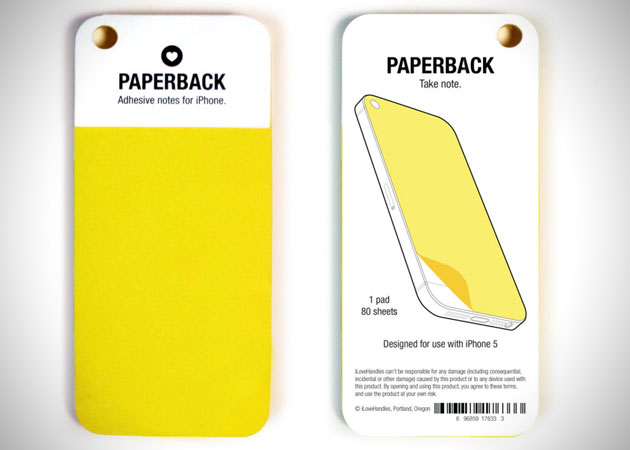 iPhone Paperback Sticky Notes 4