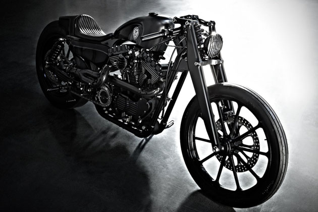 Harley Sportster Stealth Bullet by Rough Crafts 3