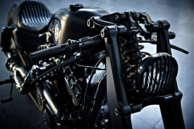 Harley Sportster Stealth Bullet by Rough Crafts 5