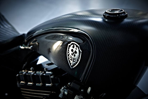 Harley Sportster Stealth Bullet by Rough Crafts 7