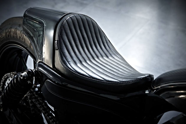 Harley Sportster Stealth Bullet by Rough Crafts 8