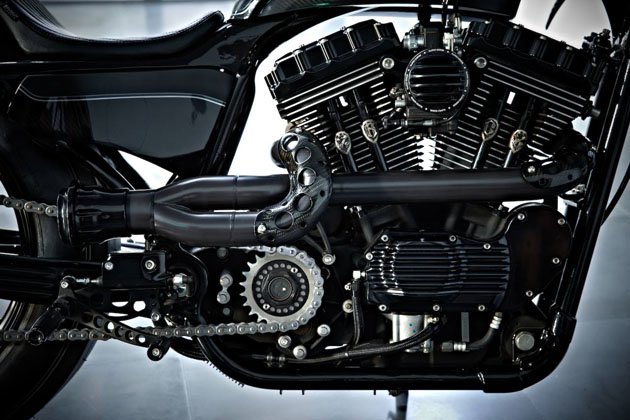 Harley Sportster Stealth Bullet by Rough Crafts 9