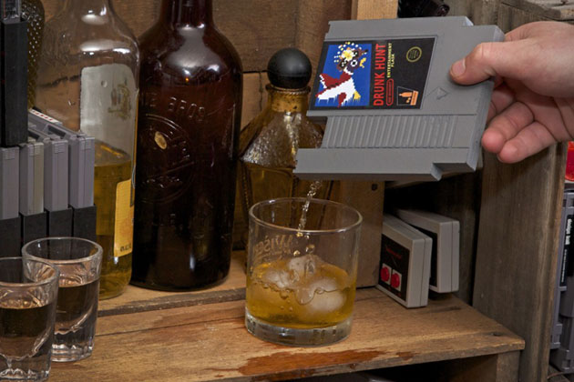 Ink Whiskey Entertainment Flask 2