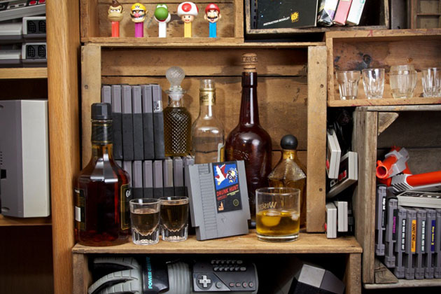 Ink Whiskey Entertainment Flask 3