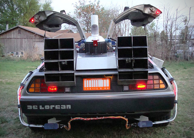 Ford Tremor For Sale >> Custom-Built Back to the Future DeLorean For Sale ...