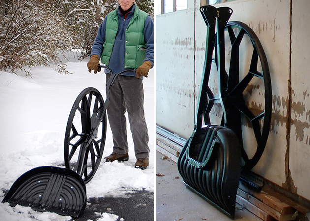 Snow Wolf Wheeled Snow Shovel 3
