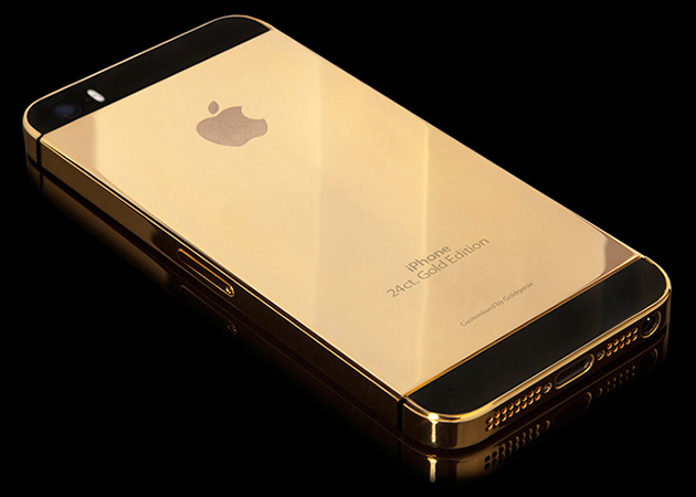 Solid Gold Apple iPhone 5S 2