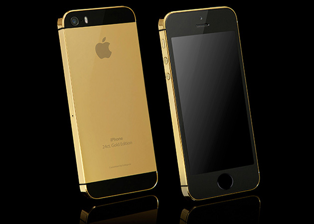Solid Gold Apple iPhone 5S 3