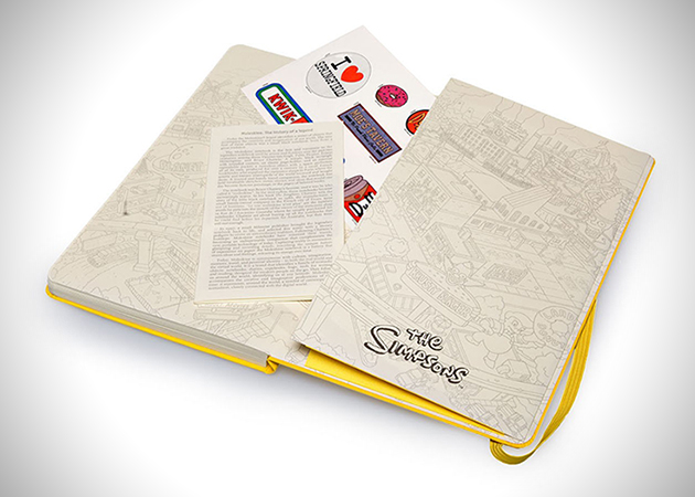The Simpsons Moleskine Limited Edition Notebook 3