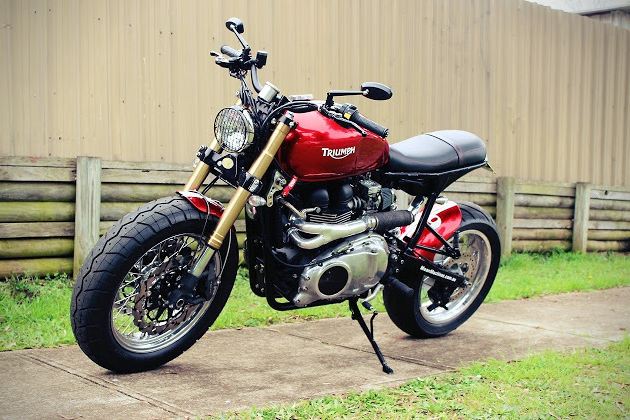 Triumph Bonneville Max Max by MeanMachines 2