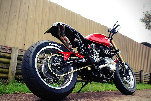 Triumph Bonneville Max Max by MeanMachines 4