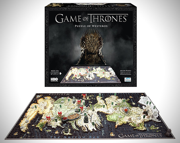 3D Map of Westeros Puzzle 1