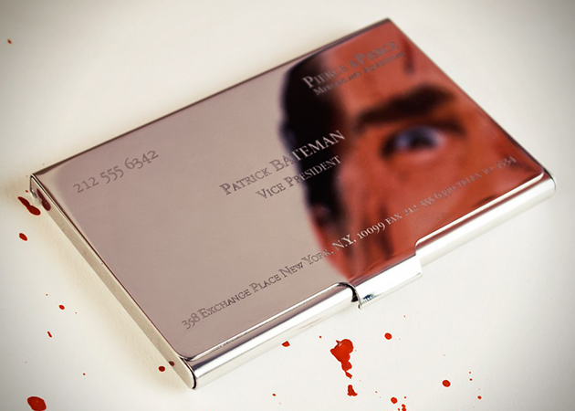 American Psycho Patrick Bateman Business Card Holder