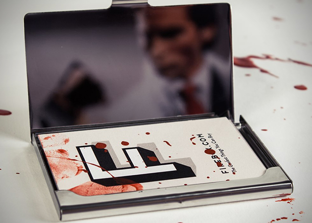 American Psycho Patrick Bateman Business Card Holder 2