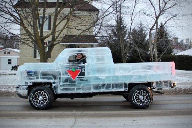 Chevy Silverado Ice Truck by Candaian Tire 5