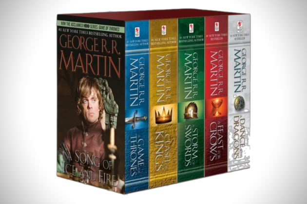 Game Of Thrones Boxed Book Set 1