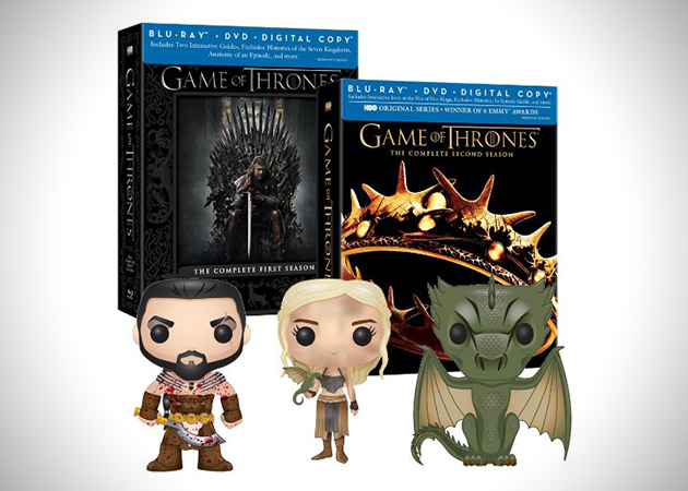 Game of Thrones Season 1 2 and 3 Exclusive Figures