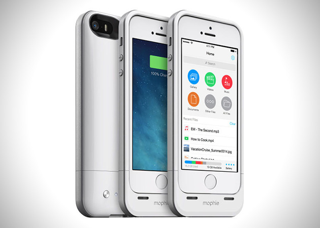 Mophie Memory Case for Apple iPhone 5 2