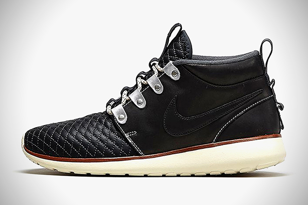 4f6f18b0e4fb Nike Roshe Run SneakerBoots Premium Leather Pack