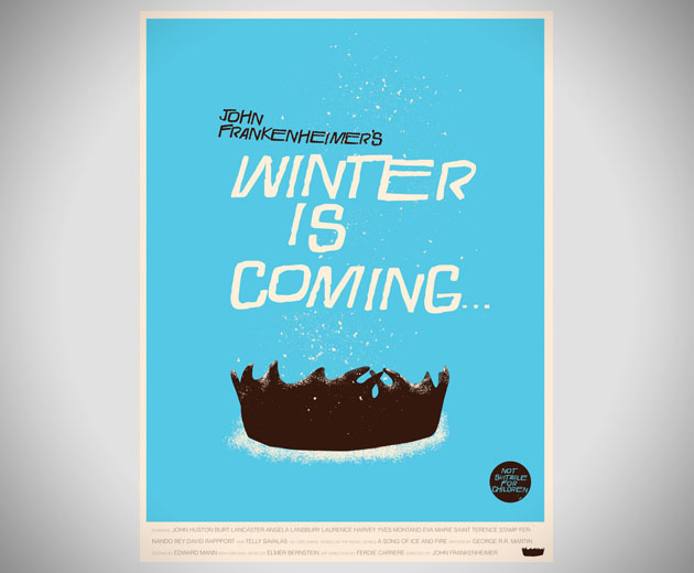 Saul Bass Style Game of Thrones Posters