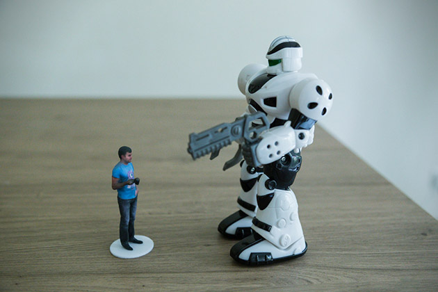 Shapify 3D Printed Figure 2