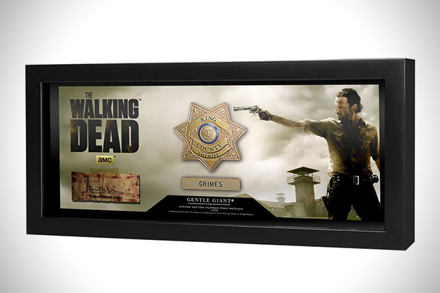 Sheriff Rick Grimes Badge Prop Replica