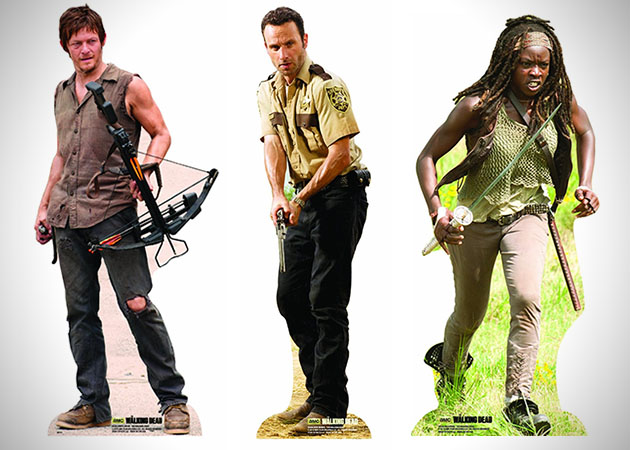 The Walking Dead Lifesize Standup Poster 2
