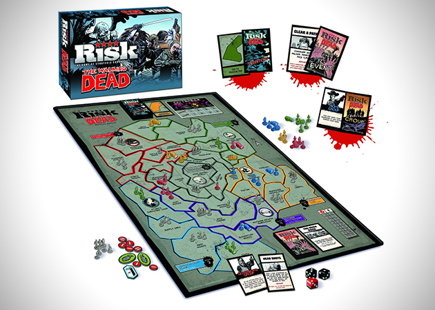 The Walking Dead Risk Game
