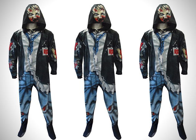 The Walking Dead Zombie Footed Pajamas
