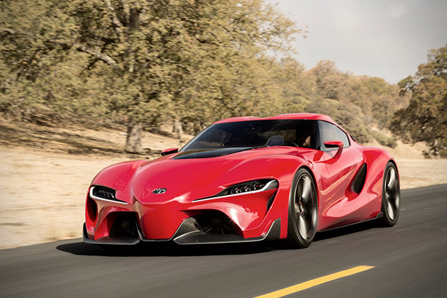 Toyota FT-1 Sports Coupe Concept 2