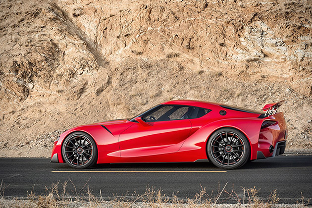 Toyota FT-1 Sports Coupe Concept 4