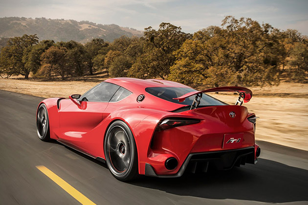 Toyota FT-1 Sports Coupe Concept 6