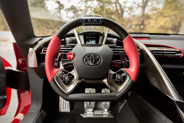 Toyota FT-1 Sports Coupe Concept 8