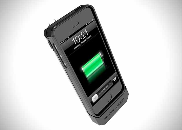 Yellow Jacket iPhone 5 Stun Gun Case 2