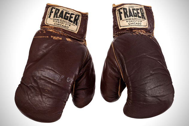 1964 Muhammad Ali Worn Boxing Gloves 1