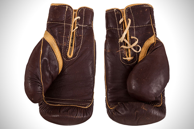 1964 Muhammad Ali Worn Boxing Gloves Up For Sale