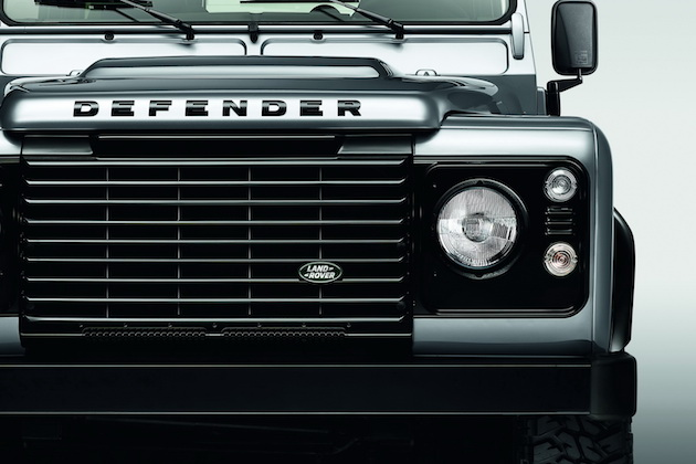 2015 Land Rover Defender Black and Silver Pack 2