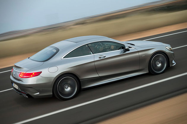 2015 Mercedes-Benz S-Class Coupe 4